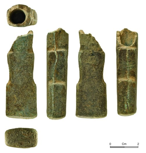 NMGW-B31642: Late Bronze Age socketed tool, probably a hammer