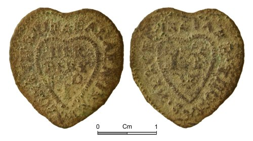 NMGW-3768A7: Post Medieval token