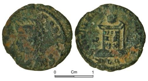 NMGW-496158: Roman Coin: Crispus Caesar, nummus, London