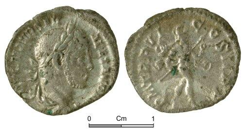 NMGW-4A45FA: Roman Coin: Severus Alexander, denarius, Rome