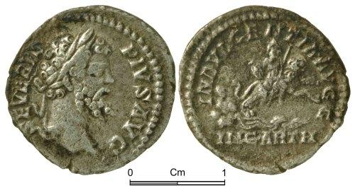 NMGW-4AC839: Roman Coin: Septimus Severus, denarius, Rome