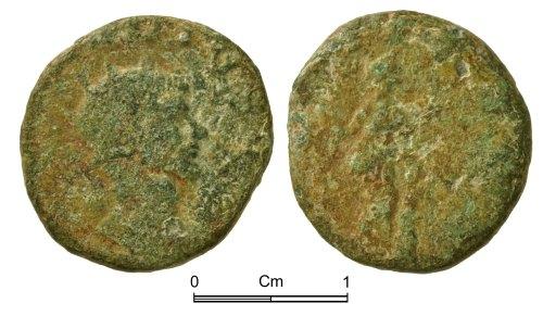 NMGW-725DED: Roman Coin: Claudius II, radiate, Rome