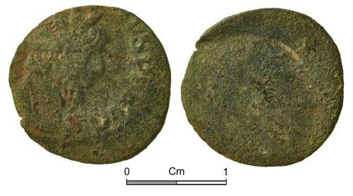 NMGW-7270A7: Roman Coin: Victorinus, in Gaul, radiate