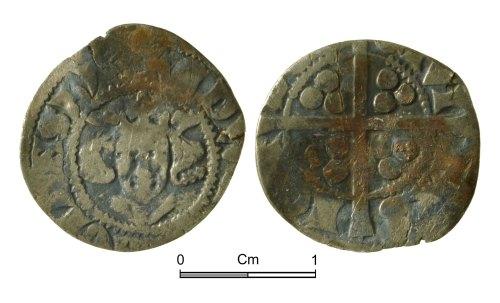 NMGW-75EB5C: Medieval Coin: Edward I, penny, London