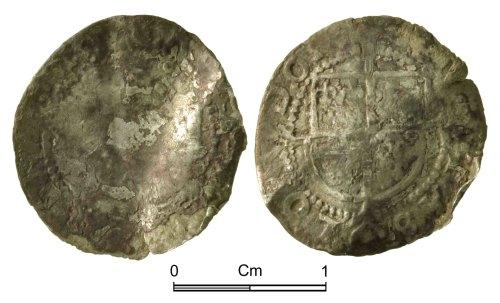 NMGW-765498: Post Medieval Coin: Elizabeth I, half groat, London