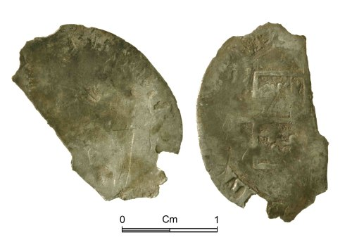 NMGW-766433: Post Medieval coin: Mary, groat, London
