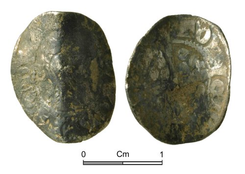 NMGW-76A84A: Medieval Coin: Edward I, penny, Canterbury