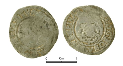 NMGW-76D838: Post Medieval Coin: James I, halfgroat, London