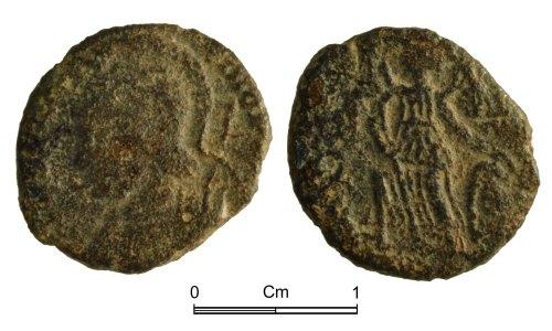 NMGW-F08C9B: Roman Coin: Constantinopolis, nummus
