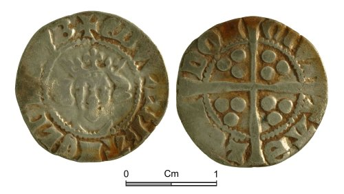 NMGW-EF643D: Medieval Coin: Edward I, penny, London