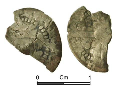 NMGW-F16351: Medieval Coin: 15th century penny, Probably Henry VI