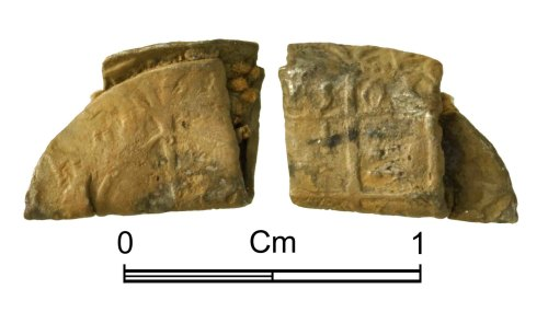NMGW-F18CD8: Post Medieval Coin: Elizabeth I, three farthings, London