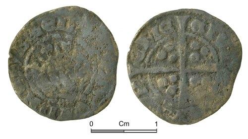 NMGW-F1AA7F: Medieval Coin: Edward II, penny, Durham