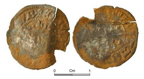 NMGW-F2DE53: Medieval Coin: Edward II, penny, Durham