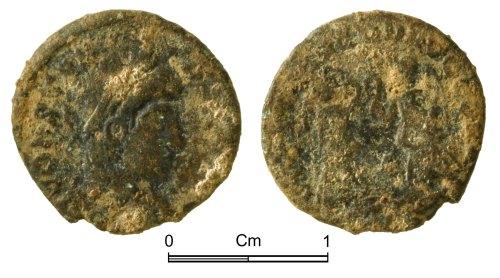 NMGW-464237: Roman Coin: Constans Augustus, nummus, Trier