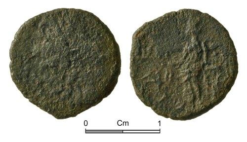 NMGW-08DFAA: Roman Coin: Tetricus I in Gaul, radiate