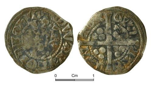 NMGW-479BDE: Medieval Coin: Edward I, penny, Canterbury