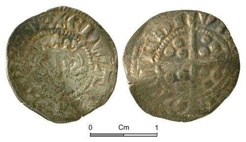 NMGW-47DEDB: Medieval Coin: Edward II, penny, Bury St Edmunds