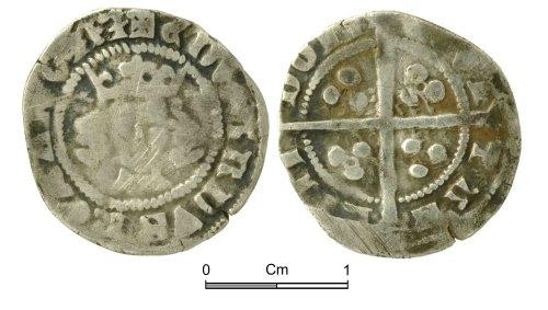 NMGW-59E85D: Medieval Coin: Edward III, penny, London