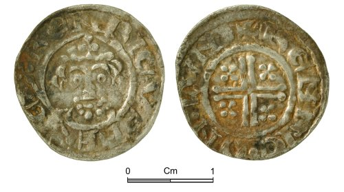 NMGW-5A44AA: Medieval Coin: Short Cross penny, London