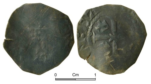 NMGW-710A06: Medieval Coin: Henry II, penny, Canterbury