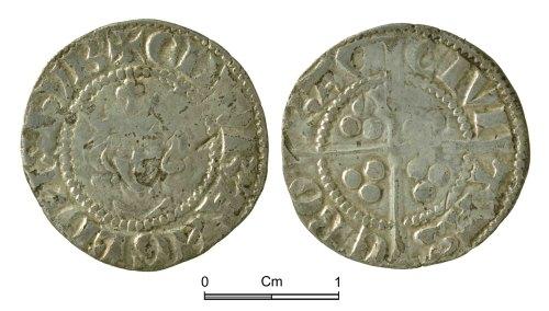 NMGW-71257A: Medieval Coin: Edward I, penny, York