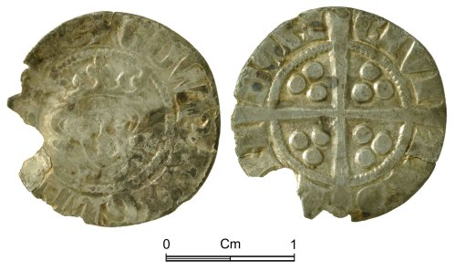 NMGW-6FFB9D: Medieval Coin: Edward I, penny, London