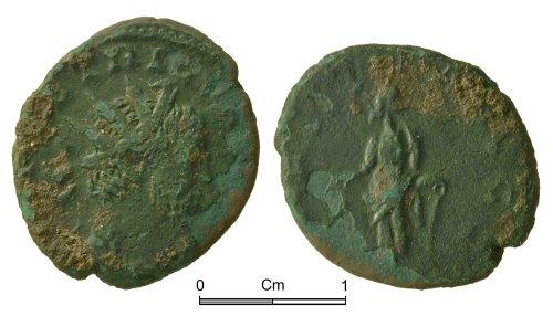 NMGW-1A95B5: Roman copper alloy coin