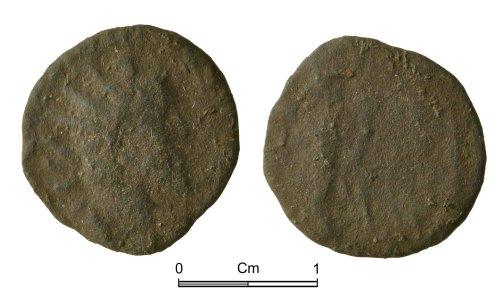 NMGW-1B4C39: Roman copper alloy coin