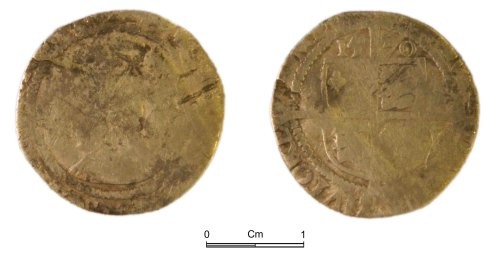 NMGW-85A676: Post Medieval Coin: Elizabeth I, sixpence, London