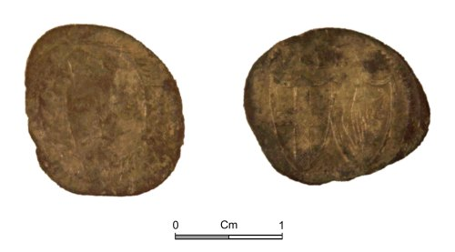 NMGW-881338: Post Medieval Coin: Commonwealth of England, half groat, London