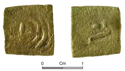 NMGW-1A4005: Post medieval copper alloy token