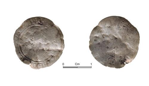 NMGW-2E8C04: Post medieval silver coin Elizabeth I