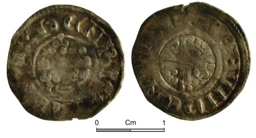 NMGW-F7C467: Medieval Coin: Henry III Short Cross penny