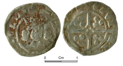 NMGW-0F1911: Medieval Coin: Edward III, penny, York
