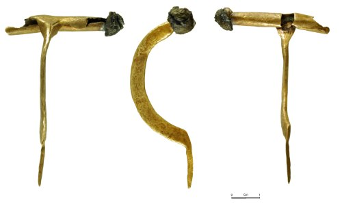 NMGW-2191FB: Roman bow brooch of Crossbow variant type