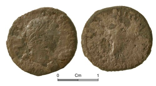 NMGW-25062B: Roman Coin: Hadrian, denarius, Rome