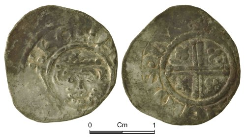 NMGW-2517A5: Medieval Coin: Short Cross penny