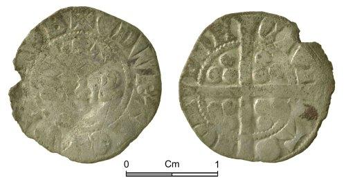 NMGW-257DE8: Medieval Coin: Edward I, penny, London