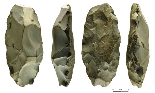 NMGW-8E09D4: Neolithic axehead: roughout