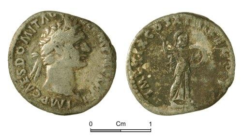 NMGW-DF3637: Roman Coin: Domitian, denarius, Rome