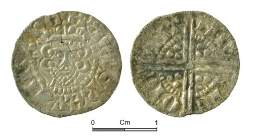 NMGW-DF49BF: Medieval Coin: Henry III, Long Cross penny