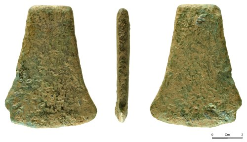 NMGW-B2F337: Early Bronze Age flat axe