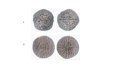 NMGW-12F469: Medieval silver groats of Edward III