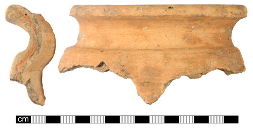 A resized image of roman ceramic rim sherd, sherd 1