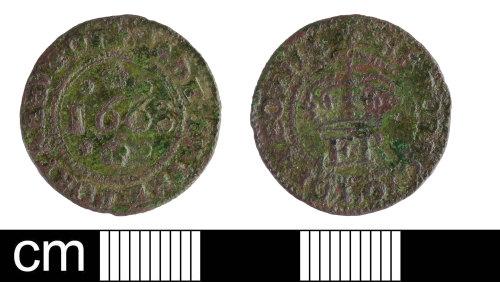 SOM-58B317: Post-Medieval token