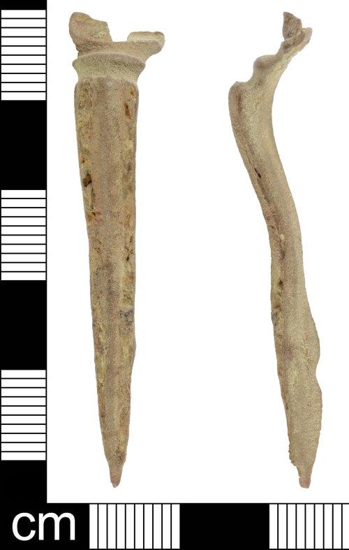 SOM-7FD882: Roman hod hill brooch