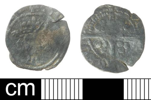 SOM-CEDE8F: Medieval coin: silver penny of Henry V