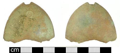 SOM-DD4914: Post-Medieval spoon fragment
