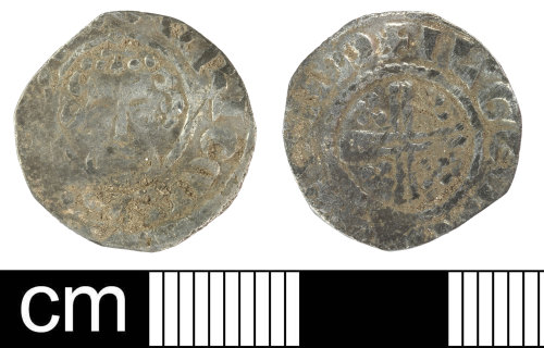 SOM-EB0D06: Medieval Coin: Penny of Henry III